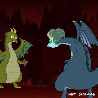 Frydo vs Momon in Dragon Form