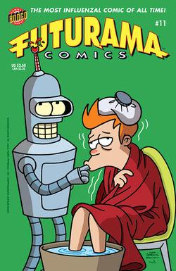 Futurama-11-Cover