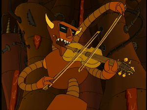 Robot Devil Fiddle
