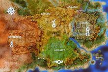 Encantadia map