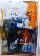 Un abstracto 1 - mixta - 1997