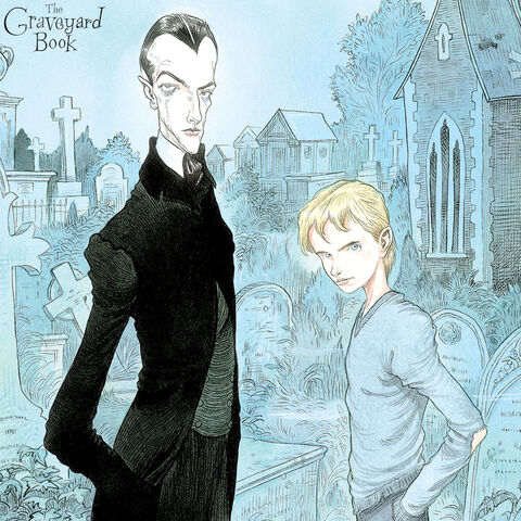 File:Graveyard Book Chris Riddell iPad Wallpaper.jpg