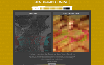 Endgameiscoming event