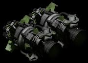 Large atomic thruster