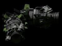 Large atomic steering