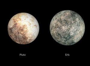 Pluto, Eris