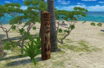 Nineball Island Totem