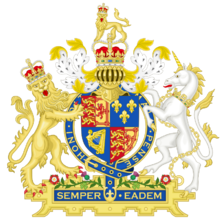Coat of Arms of Great Britain (1707-1714)