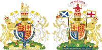 Royal Coat of Arms of the United Kingdom (Both Realms)