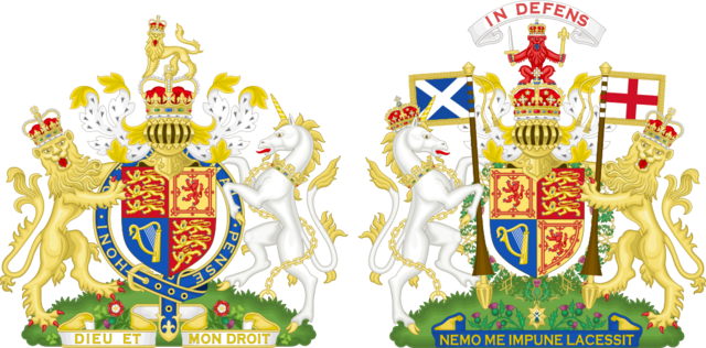 File:Royal Coat of Arms of the United Kingdom (Both Realms).png