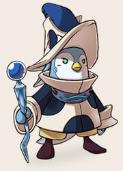 Hero penguin