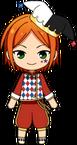 Hinata Aoi Clown chibi