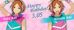 Yuta Hinata Aoi Happy Birthday 2016