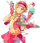(Intricate Marble Ice Cream) Nazuna Nito Full Render BLoomed