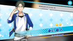 (Academy Idol) Keito Hasumi Scout CG