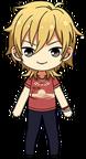 Kaoru Hakaze Plain Clothes (Summer) chibi