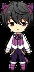 Ritsu Sakuma Cheshire Cat chibi