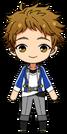 Mitsuru Tenma academy idol uniform chibi