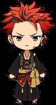 Kuro Kiryu Quarrel Festival Uniform chibi