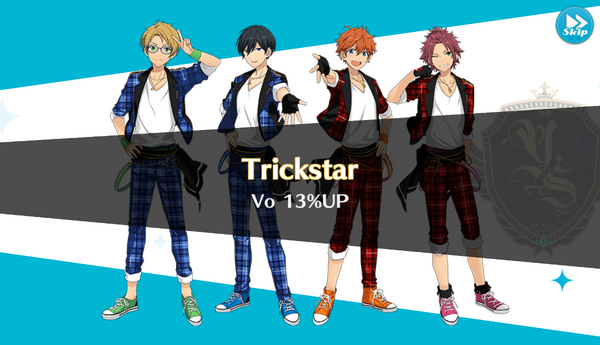Trickstar 13% Up