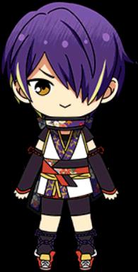 Shinobu Sengoku Ninja chibi