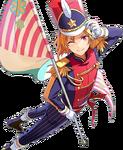 (Color Guard Leader) Nazuna Nito Full Render Bloomed