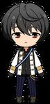 Ritsu Sakuma Knights uniform chibi