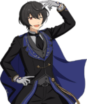 (Gathered Knight) Ritsu Sakuma Full Render Bloomed