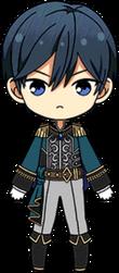 Hokuto Hidaka First Prince chibi