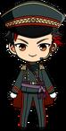 Tetora Nagumo Night Watch Uniform chibi
