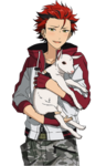 (Playful Mood) Kuro Kiryu Full Render Bloomed