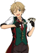 (Standard Combatant) Tomoya Mashiro Full Render Bloomed