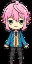 Tori Himemiya student uniform chibi