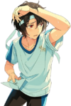 (Cheer in the Shade) Ritsu Sakuma Full Render