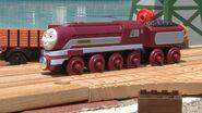 Caitlin the Castle Railtour Engine