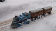 Thomas in the snowstorm