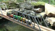 Paxton on bridge