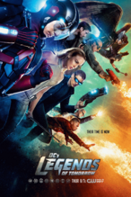 DC's Legends of Tomorrow season 1 poster - Their Time is Now