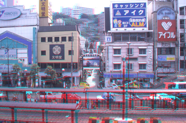 File:Nagasaki city 'anaglyph photo)