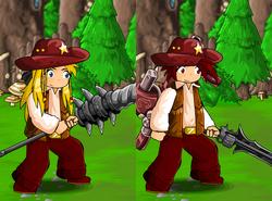 Cowboy Shirt and Hat