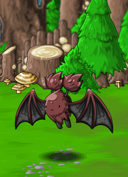EBF4 Foe Fluffy Bat