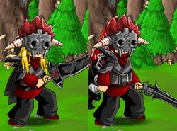 Dark Armor and Death Mask