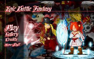 Epic Battle Fantasy Menu