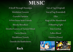 Epic Battle Fantasy 4 Music Screen