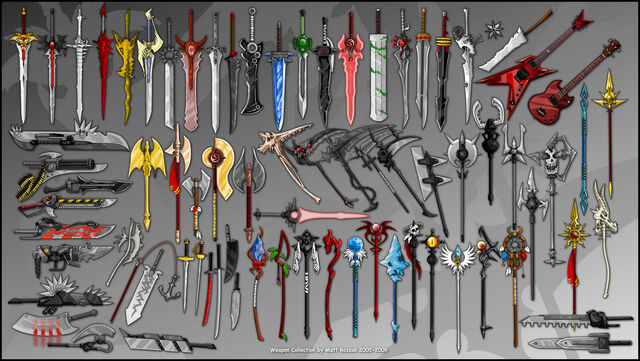 File:Weapon Collection by kupo707.jpg