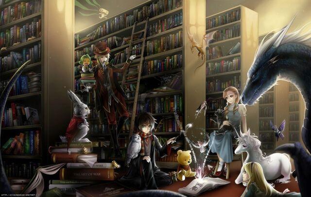 File:Fantasy books.jpeg