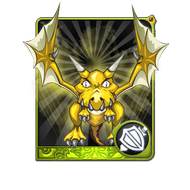 Gold Dragon Card