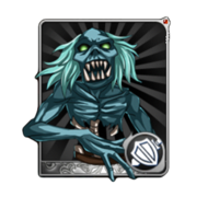 Green Ghoul Card