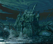 Dark Beauty castle concept