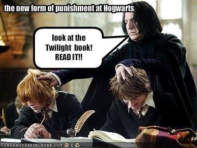 Hogwarts punishment